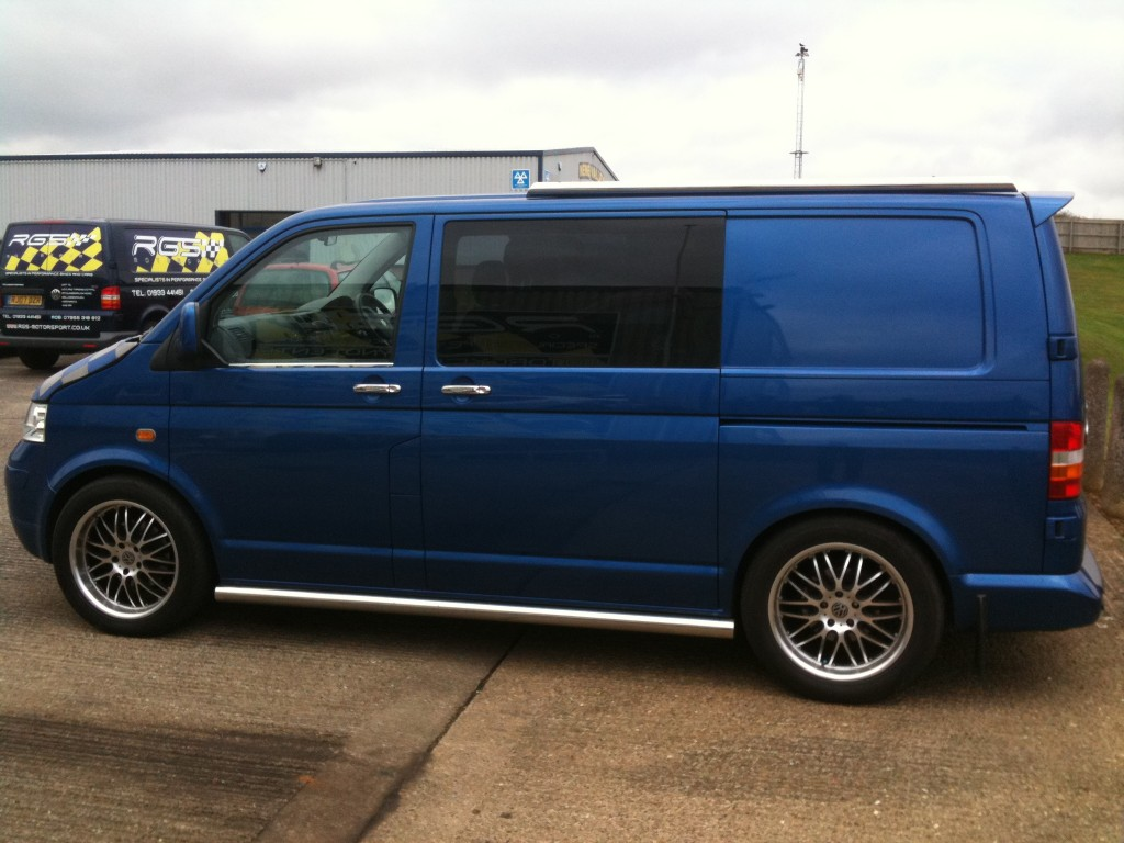 vw t5 transporter volkswagen transporter modified by rsl. Black Bedroom Furniture Sets. Home Design Ideas
