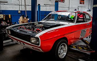 mk1 ford 3 litre capri restoration rgs motorsport northampton wellingborough