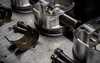 engine builds piston heads
